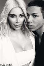 Kim Kardashian - ELLE Magazine (France) March 2015 Issue