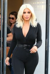 Kim Kardashian - Out in West Hollywood - March 2015