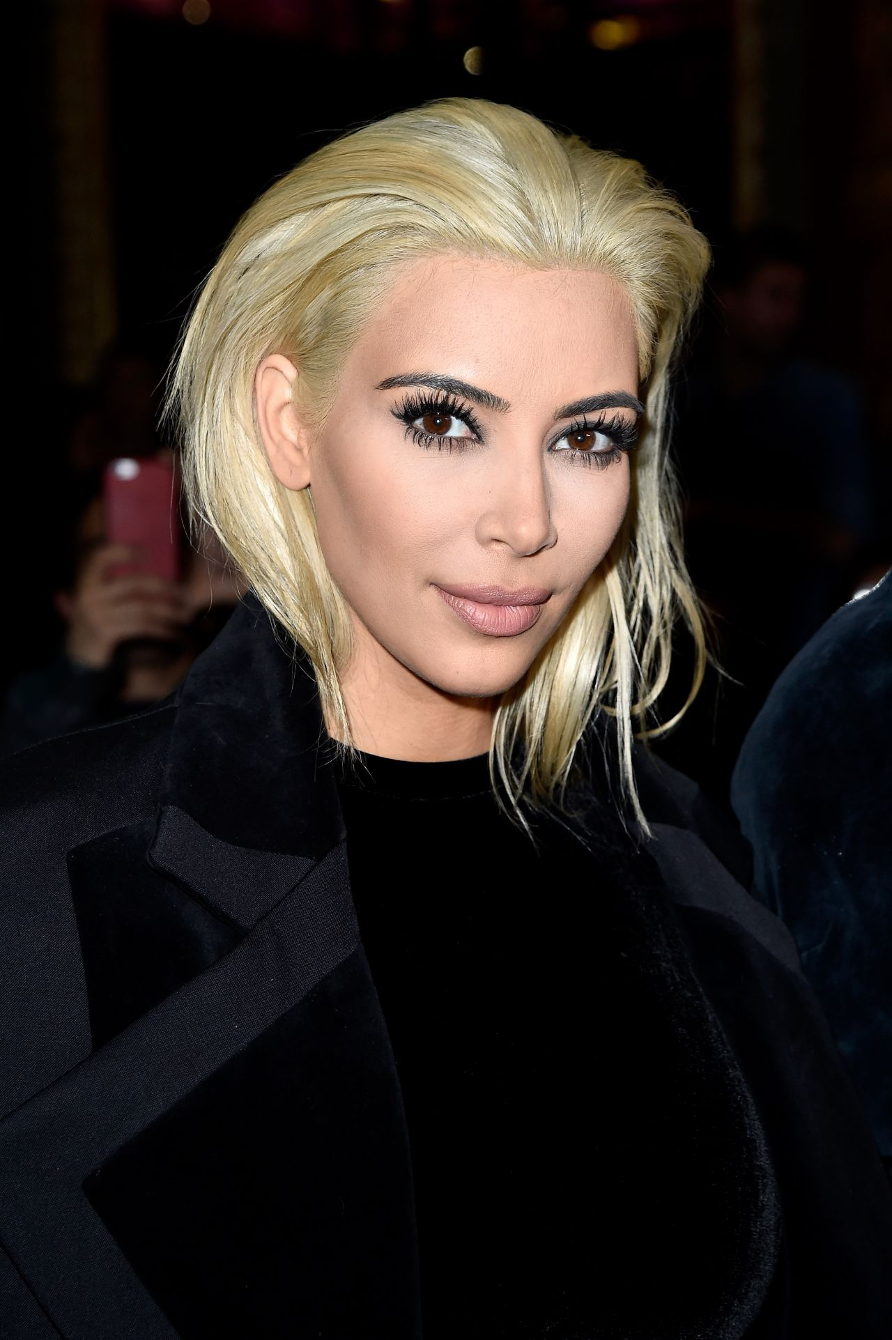 Kim Kardashian Blonde Hair 2015