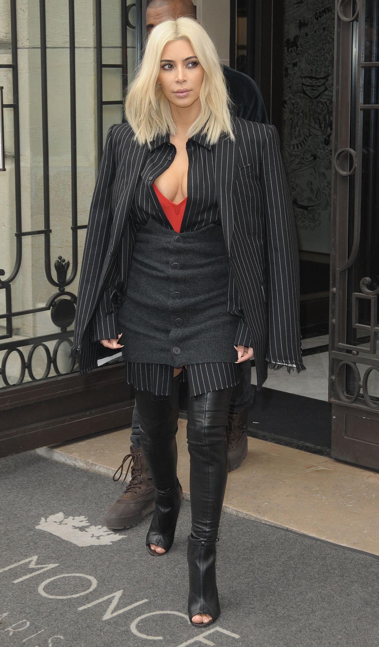 Kim Kardashian 2015 Celebrity Photos Street Fashion