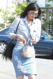 Kylie Jenner Casual Style - Leaving Fred Segal, March 2015