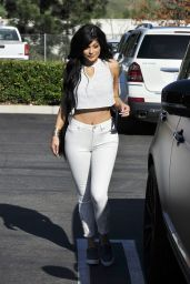 Kylie Jenner in Tight Jeans - Out in Los Angeles, March 2015