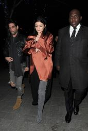 Kylie Jenner Night Out Style - London, March 2015