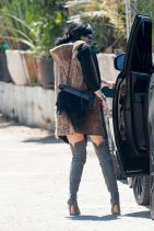 Kylie Jenner Street Style - Out in West Hollywood, March 2015