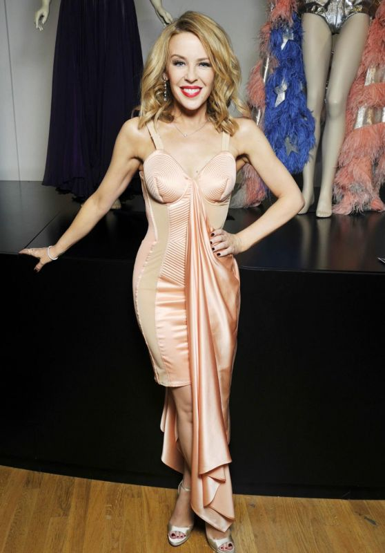 Kylie Minogue - Attends the Jean Paul Gaultier Exhibition : Photocall, March 2015