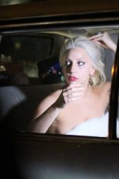 Lady Gaga - Filming Shiseido Commercial in New York City, Feb. 2015