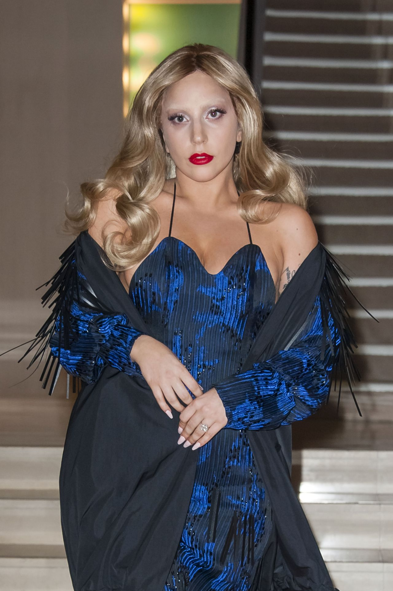 Lady Gaga Style - Shopping at 'Chanel' in Paris, March 2015