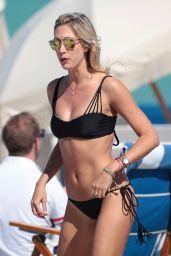 Lauren Stoner in Black Bikini in Miami, March 2015