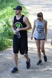 Lea Michele - Goes for a Hike in Los Angeles, March 2015