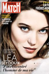 Lea Seydoux - Paris Match Magazine, March 2015 Issue