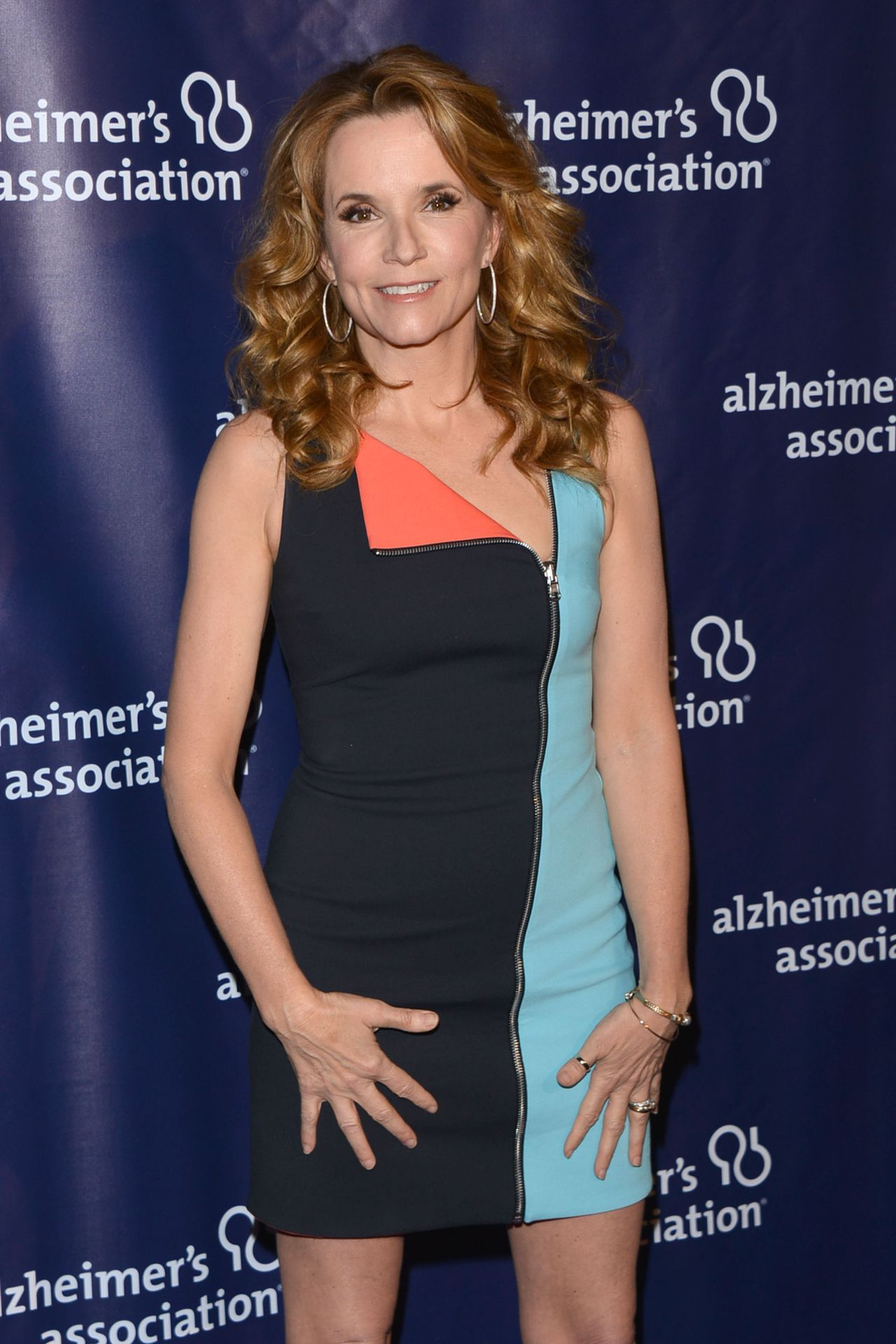 Lea Thompson – 2015 'A Night At Sardi's' in Beverly Hills
