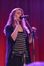 Leighton Meester Performing in Vancouver, March 2015