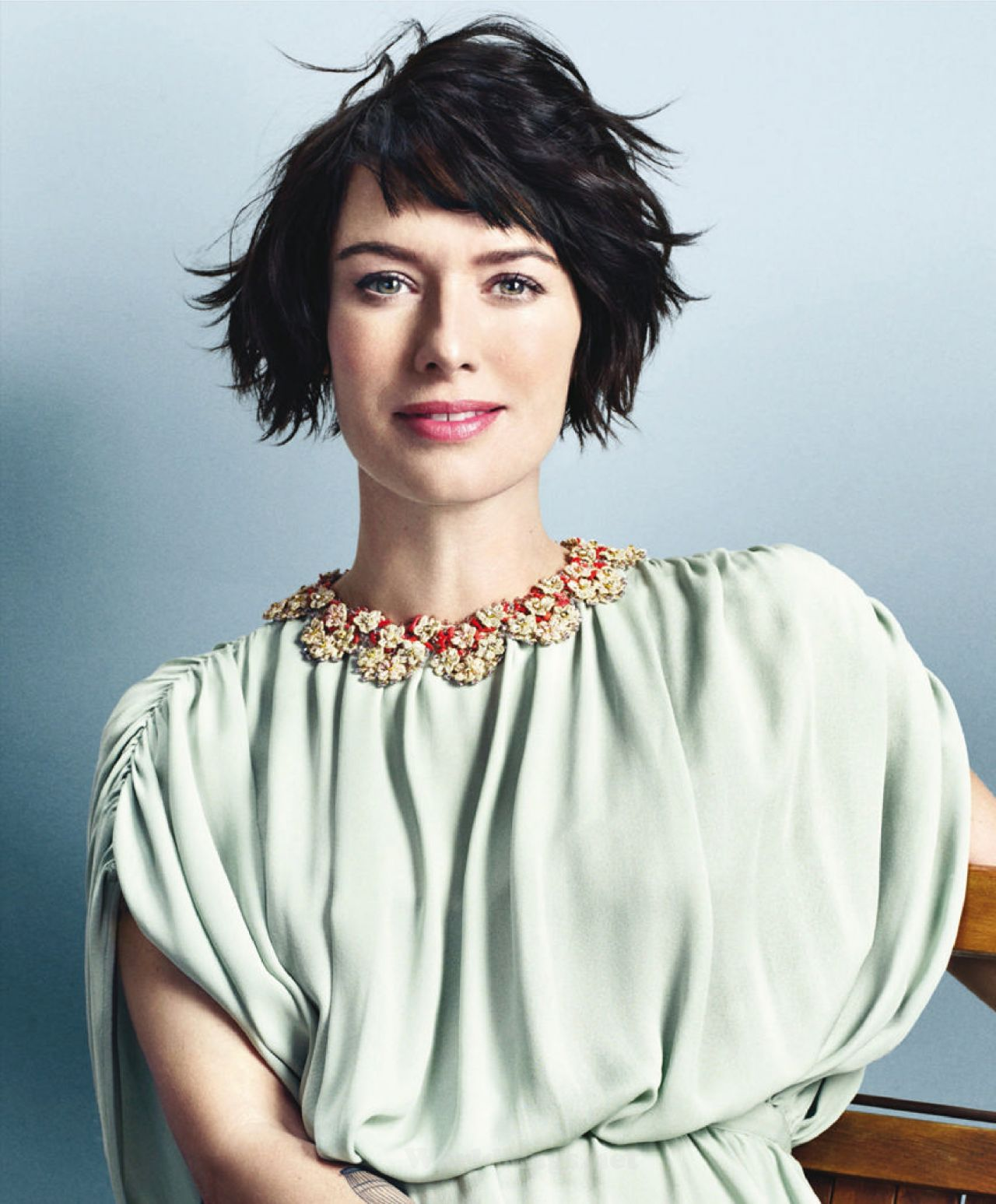 Lena Headey More Magazine April 2015 Issue