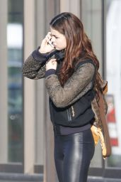 Lena Meyer-Landrut Street Style - Out in Berlin, February 2015