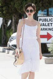 Lily Collins - Out in Beverly Hills, March 2015