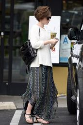 Lily Collins - Out in West Hollywood, March 2015