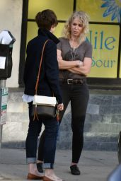 Lily Collins Out With Her Mom in Beverly Hills, March 2015
