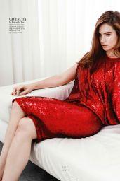 Lily James – InStyle Magazine (UK) January 2015 Issue