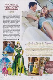 Lily James – People Magazine March 23rd 2015 Issue