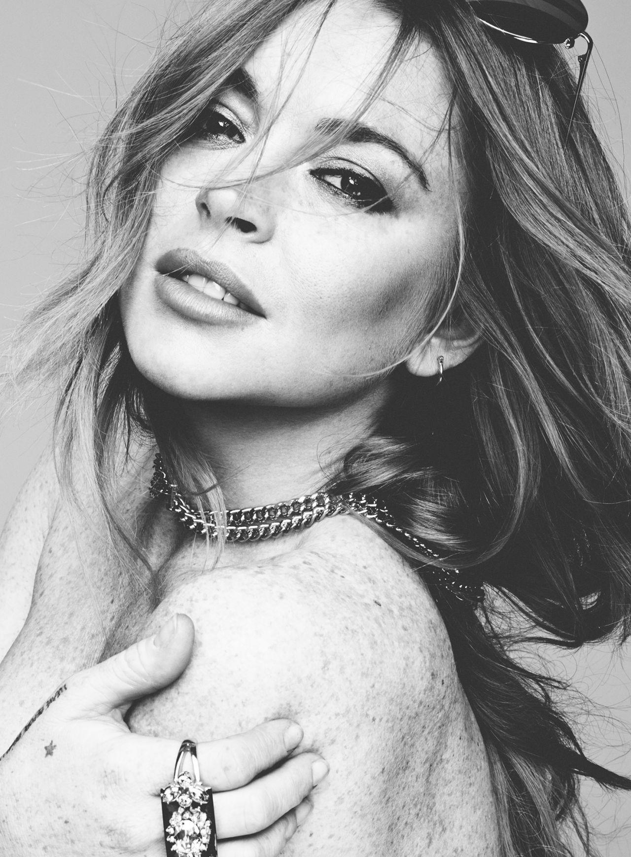 Lindsay Lohan - Hunger Magazine Issue 8 (2015)