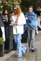 Lindsay Lohan - Out for lunch in London, March 2015