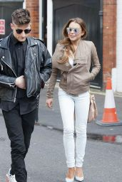 Lindsay Lohan - Out in London, March 2015