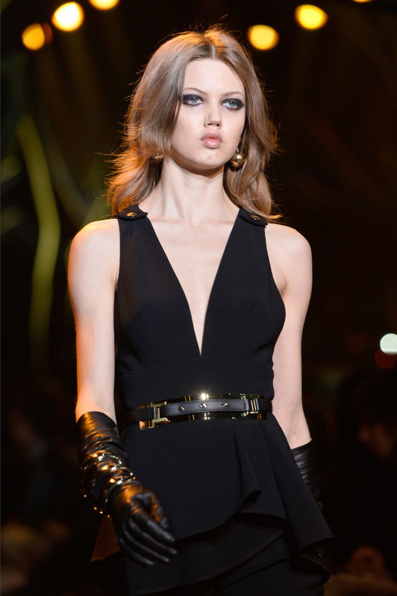 Lindsey Wixson - Elie Saab Fashion Show in Paris, March 2015