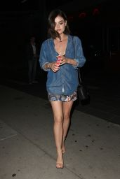Lucy Hale at BOA Steakhouse in Los Angeles, March 2015