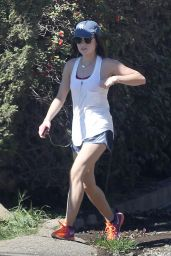 Lucy Hale - Hiking At Runyon Canyon in Los Angeles, March 2015