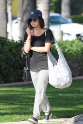 Lucy Hale Street Style - Out in LA, March 2015