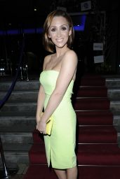Lucy Jo Hudson on Red Carpet - The Mirror Ball in Manchester - March 2015