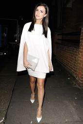 Lucy Mecklenburgh Night Out Style - Many Hopes London Banquet and Fashion Show
