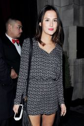 Lucy Watson Night out Style - at the Sun Bizarre Party in London, March 2015