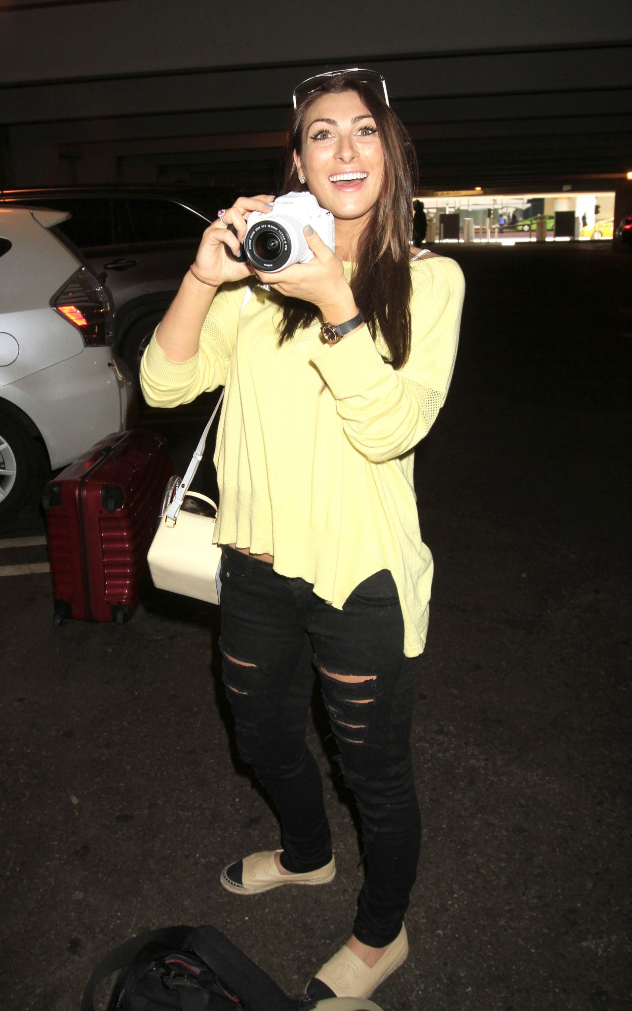 Luisa Zissman - Arriving into Los Angeles - March 2015