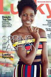 Lupita Nyong'o - Lucky Magazine March 201 Issue