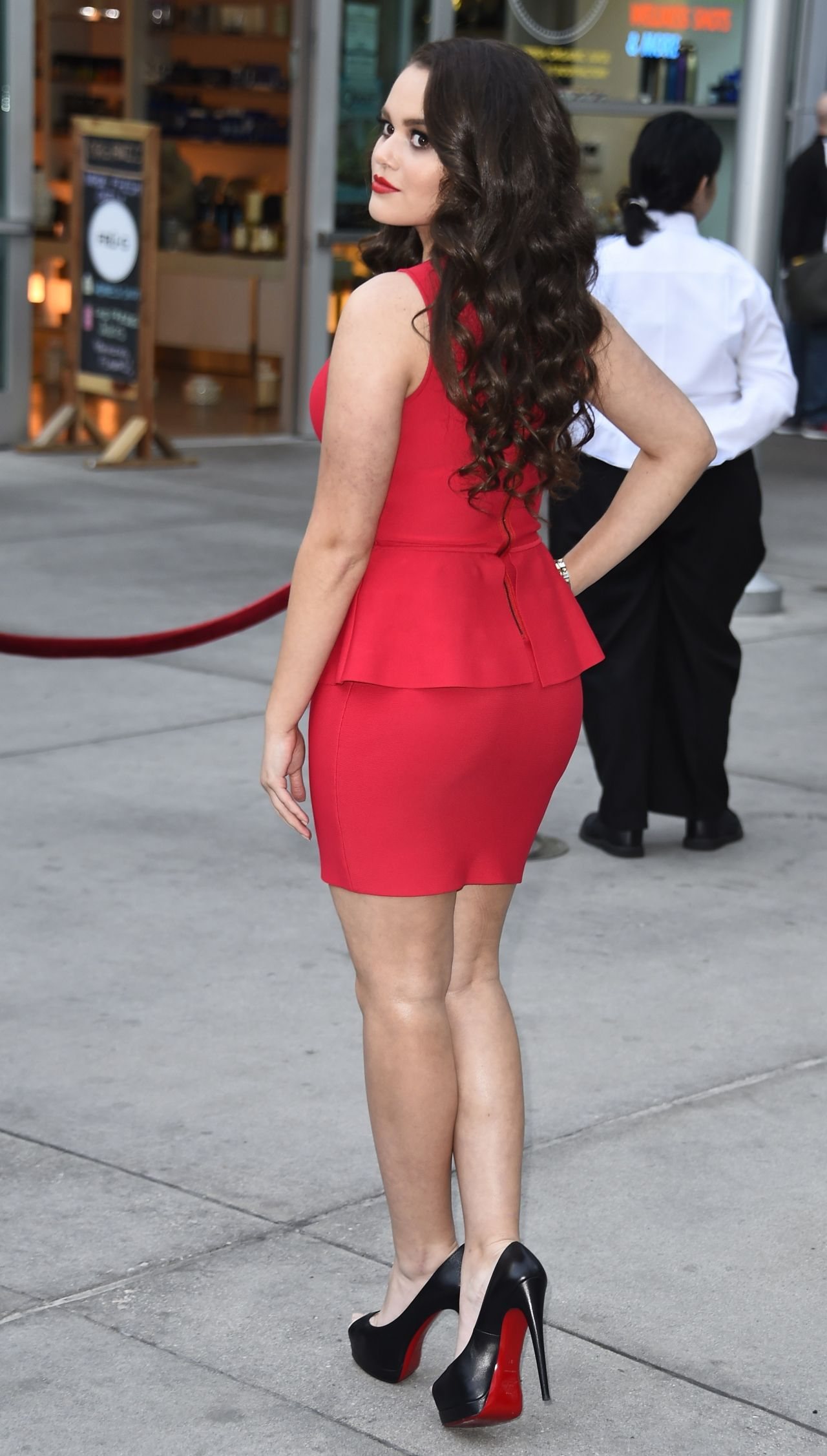 Madison Pettis Do You Believe Premiere In Los Angeles