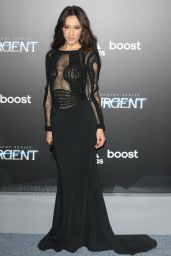 Maggie Q - Insurgent Premiere in New York City