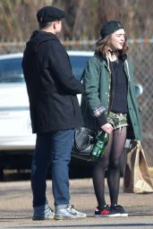Maisie Williams – Filming The Devil And The Deep Blue Sea Movie in New Orleans, March 2015