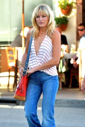 Malin Akerman  in Jeans - Leaves Il Pastaio in Los Angeles, March 2015