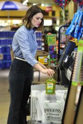 Mandy Moore - Shopping in Los Angeles - March 2015