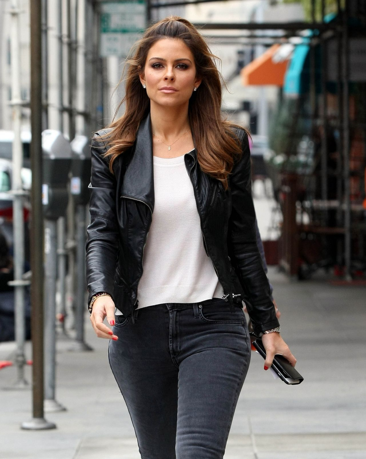 Maria Menounos Street Style - Beverly Hills, March 2015