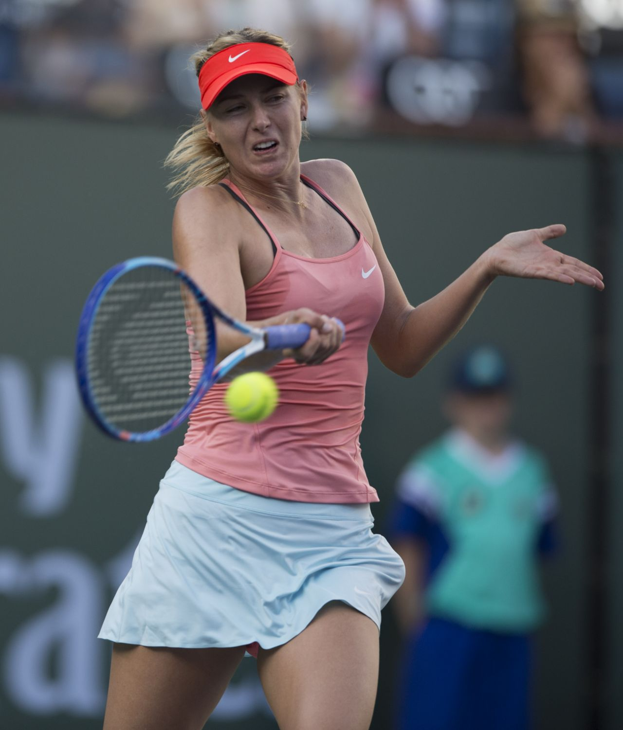 Maria Sharapova - 2015 BNP Paribas Open at Indian Wells - 2nd Round