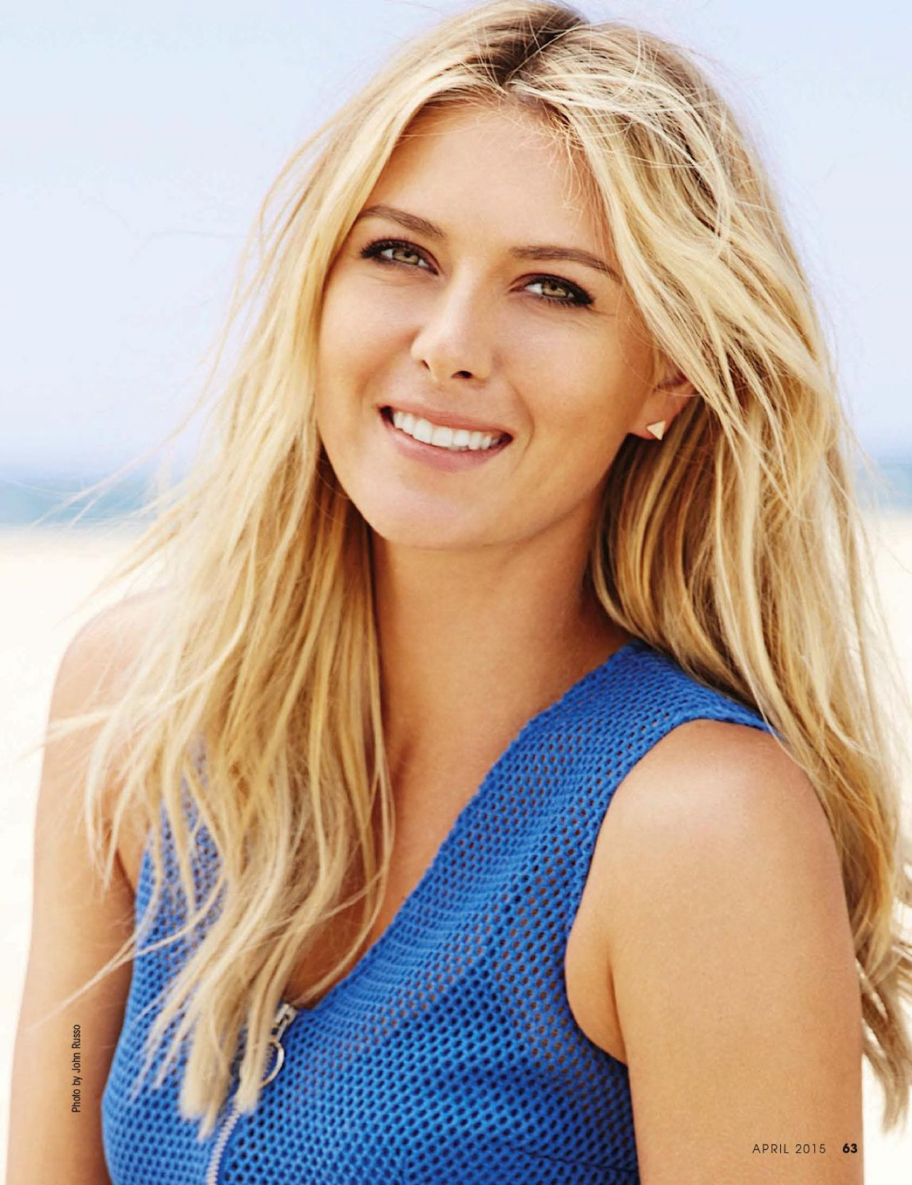 Maria Sharapova The Boca Raton Observer Magazine April