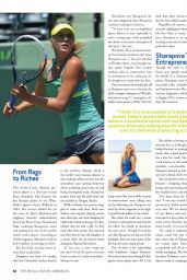 Maria Sharapova - The Boca Raton Observer Magazine April 2015 Issue