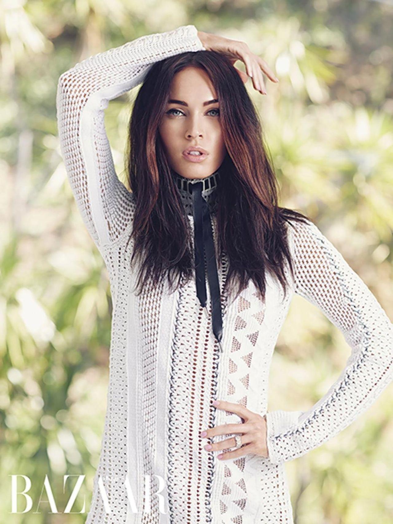 Megan Fox - Harper's Bazaar Magazine (Arabia) April 2015 Issue Megan Fox