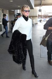 Melanie Griffith at LAX Airport, March 2015