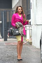 Michelle Heaton Style - London Studios - March 2015