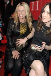 Michelle Hunziker & Aurora Ramazzotti - Versace Show at Milan Fashion Week Autumn/Winter 2015