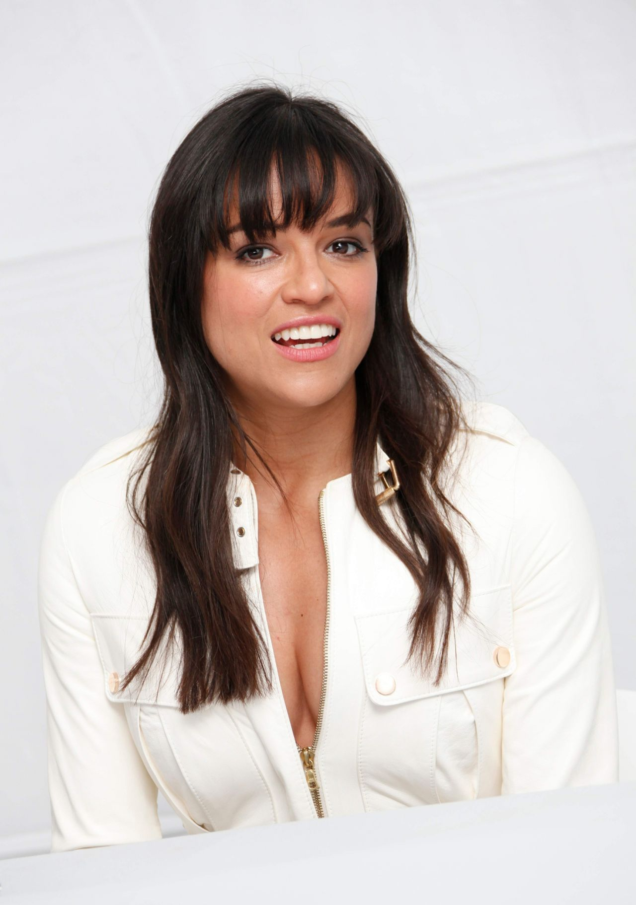 Michelle Rodriguez - Fast & Furious 7 Press Conference at ...