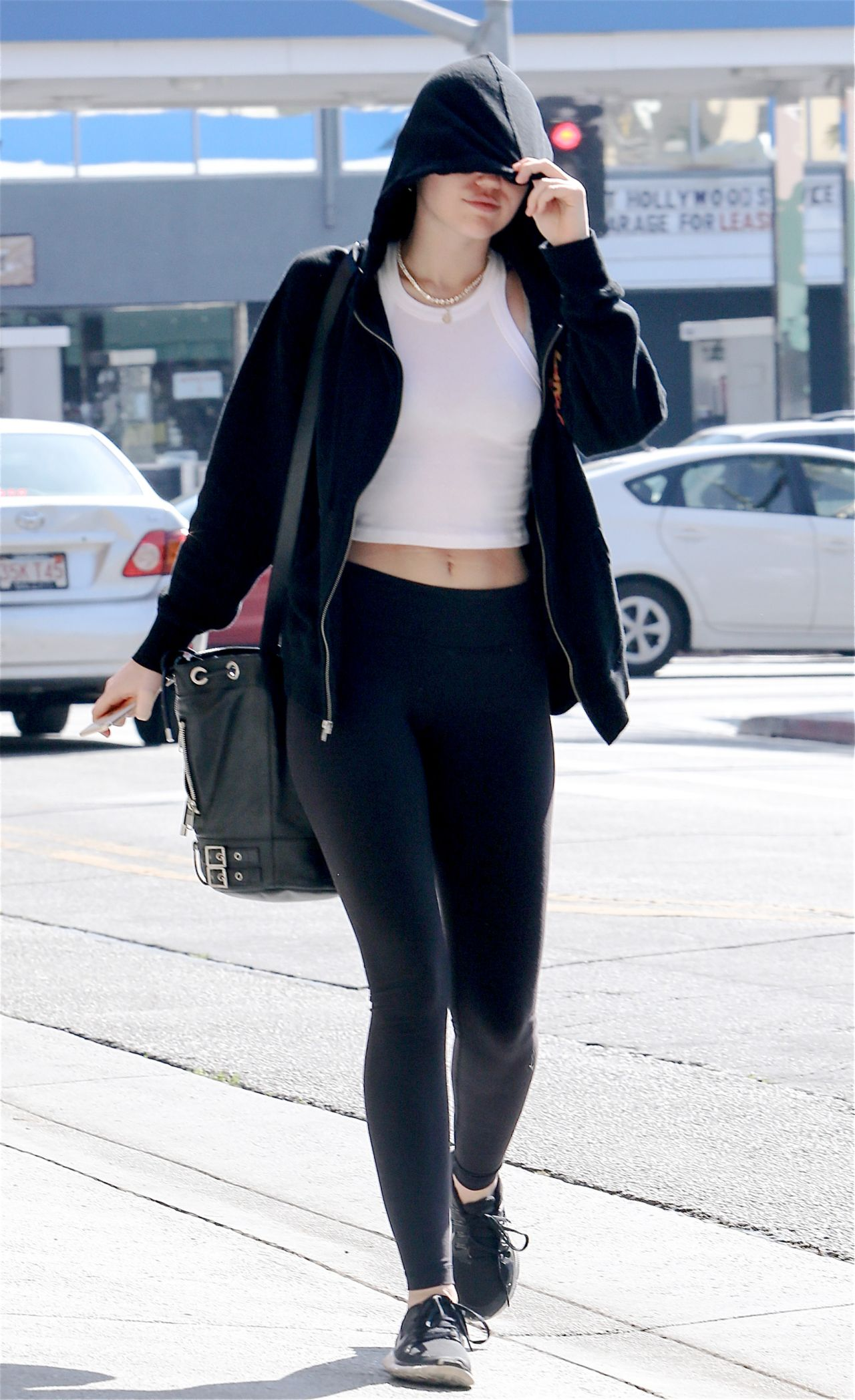 Miley Cyrus - Out for Lunch in Los Angeles, March 2015